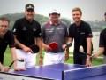 """European Tour – Volvo China Open: Turnaj odštartovala """"ping-pongová"""" exhibícia"""