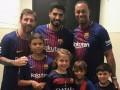 Tiger Woods zobral deti na stretnutie s obľúbenými hviezdami FC Barcelona