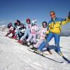 Čarovné jarné prázdniny s deťmi na zjazdovkách v rakúskych Alpách
