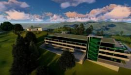 Návrh nového 18-jamkového golfového ihriska v Podhorí z dielne dizajnéra LeCobusiera